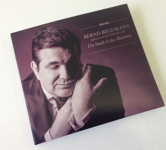 Bernd Begemann Die Stadt und das Mädchen Cover