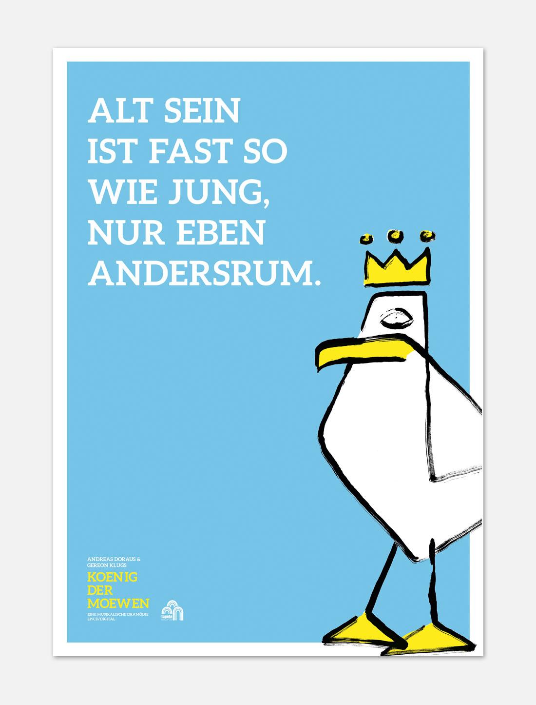 König der Möwen Plakat 1