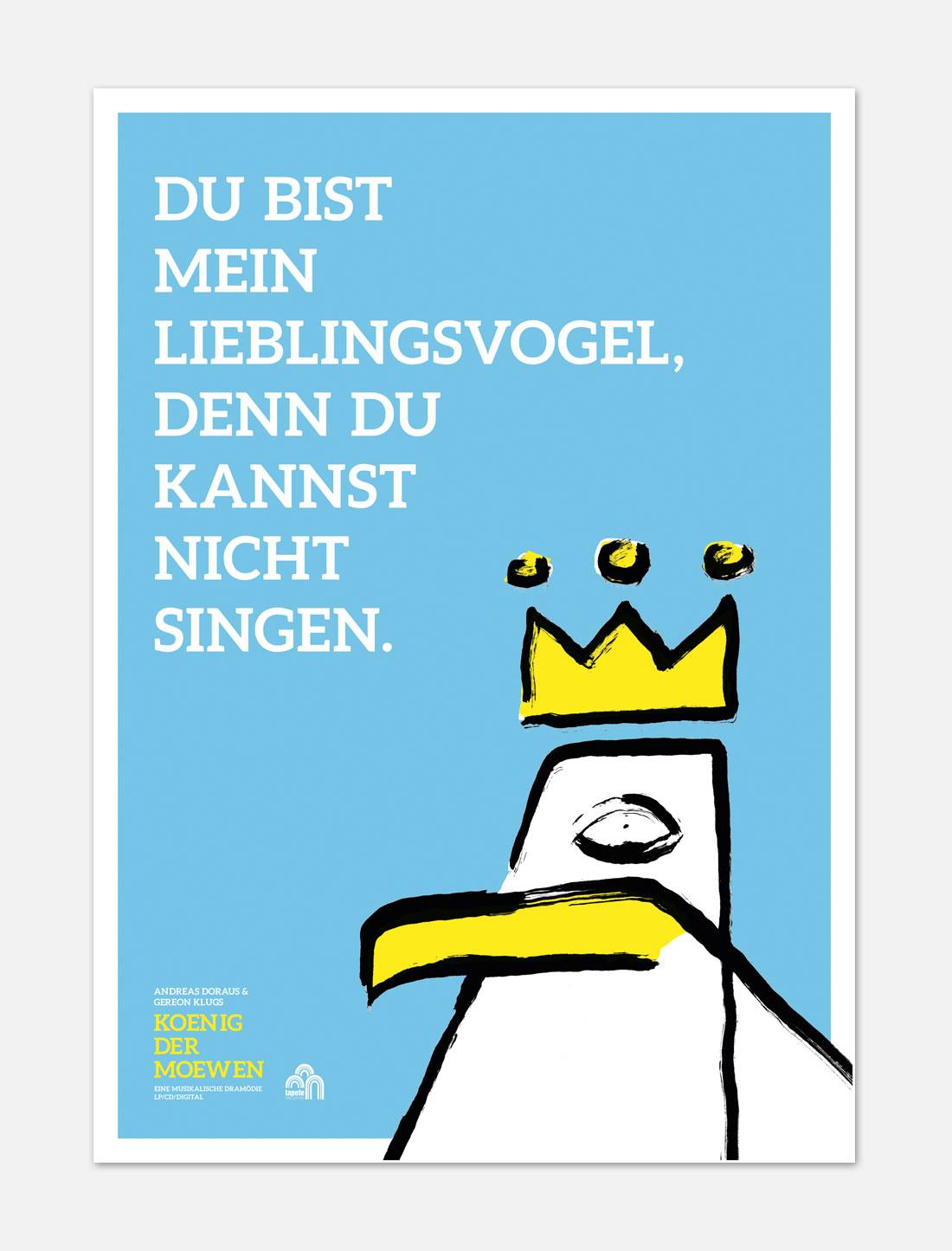 König der Möwen Plakat 2