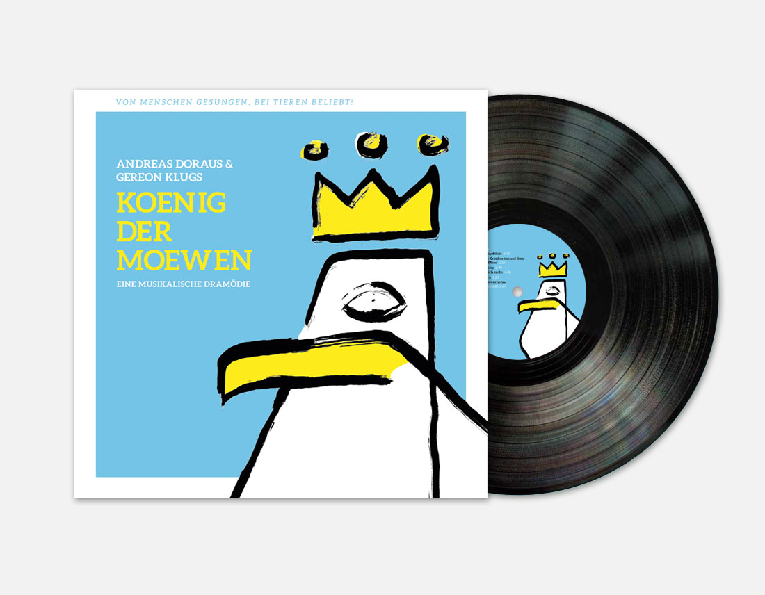 König der Möwen LP Cover