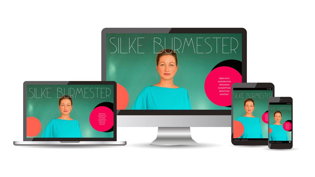 Weblayout on various devices Silke Burmester
