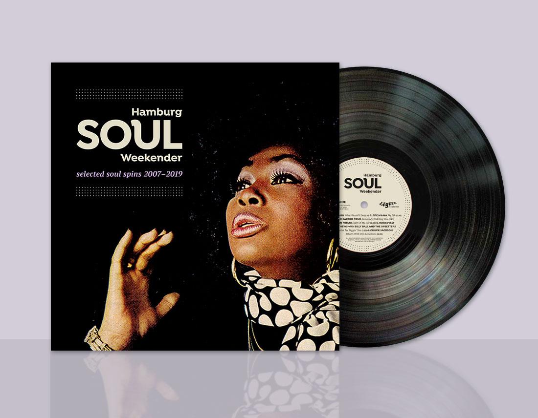 Hamburg Soulweekender LP front cover