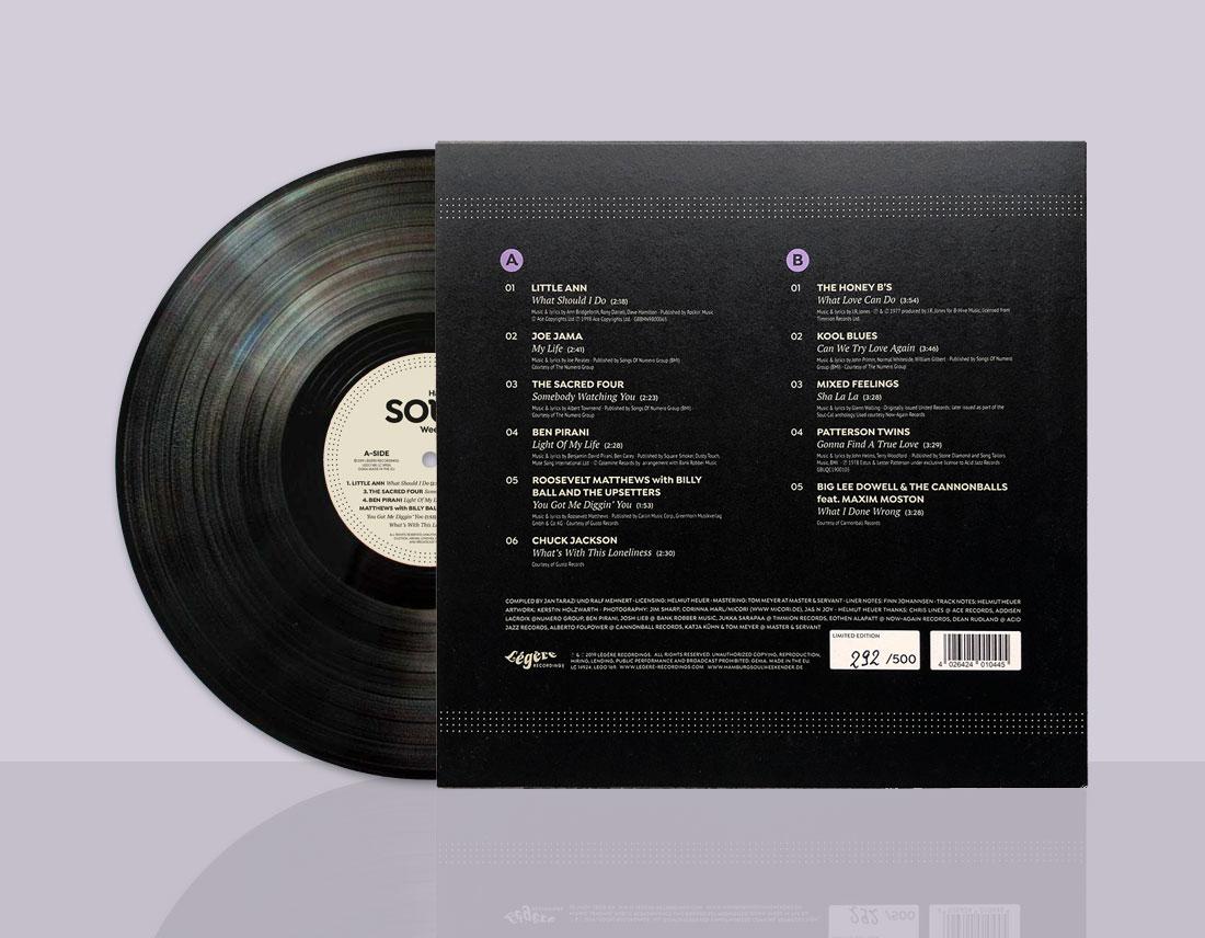 Hamburg Soulweekender LP back cover