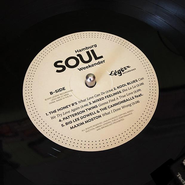Hamburg Soulweekender LP label B